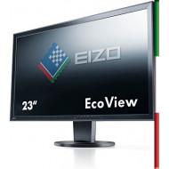 "Monitor LED 23"" EIZO EV2316W (RICONDIZIONATO CERTIFICATO) - FULL HD - PIVOT - VGA - DVI-D - DISPLAY PORT -1920*1080- SPEAKERS"