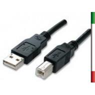 CAVO USB v2.0 Tipo A-B 1.5Mt. M/M