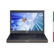 NOTEBOOK DELL M4800 (Ricondizionato Certificato) DISPLAY 15,6 FULL HD - INTEL I7-4810MQ - RAM 16GB - SSD 480GB SATA - SVGA