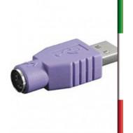 Adattatore Mini Gender Changer DB 9 poli M/F• Connettori:  - DB9 maschio  - DB9 femmina• Design a basso profilo comp