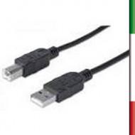 CAVO USB v2.0 TIPO AB 10 Mt.