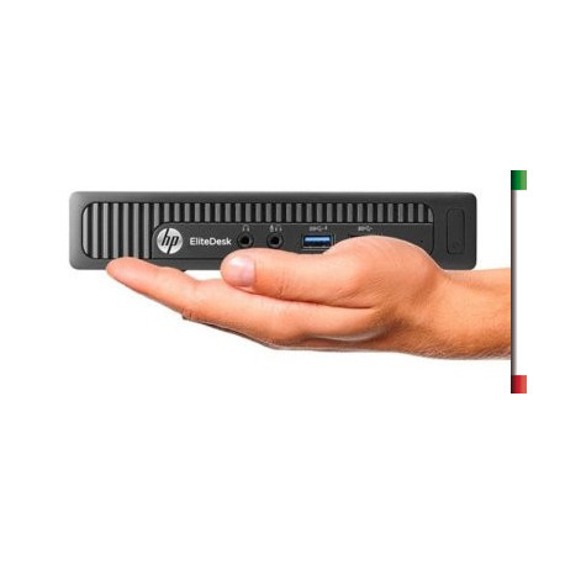 PC HP ELITEDESK 705 G2 (Ricondizionato Certificato) AMD QUAD CORE A8-8600B - SVGA RADEON R6 - 4GB RAM - SSD 256GB SATA - U