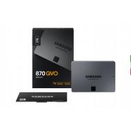 """SSD-SOLID STATE DISK 2.5"""" 2000GB (2TB) SATA3 SAMSUNG MZ-77Q2T0BW SSD870 QVO READ:560MB/S-WRITE:530MB/S 3ANNI GAR."""