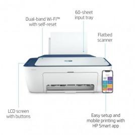 STAMPANTE HP DeskJet 2720e 26K67B Stampa, Scansiona, Copia, formato A4, Wi-Fi e Wi-Fi Direct, USB 2.0