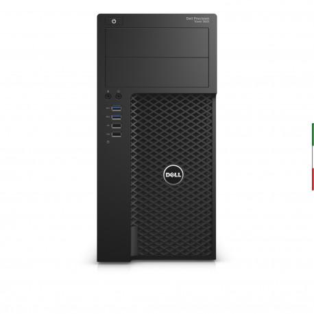 PC DELL PRECISION 3620 (GRADO B USATO CERTIFICATO) - INTEL E3-1220 V5 - SVGA NVIDIA QUADRO K620 2GB - 16GB RAM DDR4 - SSD 500G