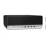 PC HP PRODESK 600 G4 SFF(Ricondizionato certificato) - INTEL I7-8700 - SVGA INTEL UHD630 - 16GB RAM - SSD 500GB NVME - USB3,0 -