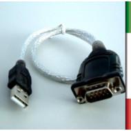 CONVERTITORE da USB a seriale: DB 9M