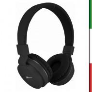 Cuffie STEREO con microfono WIMITECH CS-1039 3 colori nero-azzurro-rosso