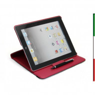 CUSTODIA MULTIFUNZIONALE TOTATOR RED PER IPAD 2,3,4 MIRACASE MA-019