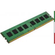 DDR4 8GB 2133MHZ KVR21N15S8/8 KINGSTON CL15 SINGLERANK