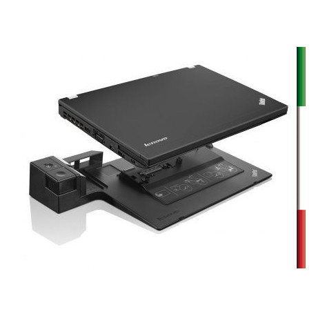 Docking Station Lenovo ThinkPad Plus Series 3 mod.4338 compatibile con :ThinkPad L412*, L420, L512*, L520 ThinkPad T400s, T410,