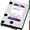HARD DISK SATA3 3.5 1TB WD10PURX WD 7200RPM 64MB CACHE INTELLIPOWER PURPLE VIDEOSORVEGLIANZA 24X7 3 ANNI GARANZIA