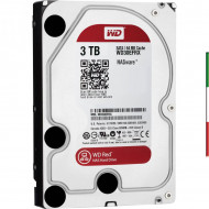 HARD DISK SATA3 3.5 3TB WD SATA3 64Mb. RED 7200g - Per Raid