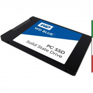 HDD SSD-SOLID STATE DISK 2.5 1TB SATA3 WD BLUE WDS100T1B0A READ:545MB/S-WRITE:525MB/S