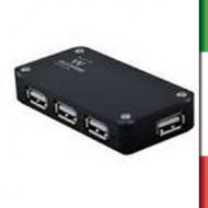 HUB  4 P ATTIVO USB 2.0  EWENT EW1121HI-SPEED
