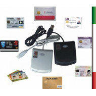 Lettore Smart CARD CAMERA COMMERCIO USB