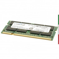 MEMORIA CRUCIAL DDR2 2GB PC667 NOTEB.