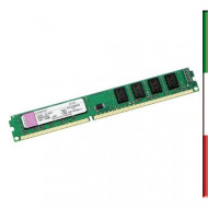 MEMORIA DDR3L DIMM 4GB 1600MHZ KVR16LN11/4 KINGSTON CL11 LOW VOLTAGE 1.35V SINGLE RANK