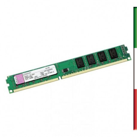 MEMORIA DDR3L DIMM 4GB 1600MHZ KVR16LN11/4 KINGSTON CL11 LOW VOLTAGE 1.35V SINGLE RANK