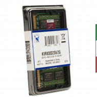 MEMORIA KINGSTON DDR II 2GB PC800 NOTEB.