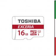 MICRO SECURE DIGITAL 16GB EXCERIA M302-EA CLASS10 R90 + ADATTATORE THN-M302R0160EA TOSHIBA