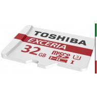 MICRO SECURE DIGITAL 32GB EXCERIA M302-EA CLASS10 R90 + ADATTATORE THN-M302R0320EA TOSHIBA