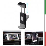 Mini supporto da auto universale per cellulari , smartphone , navigatore ...Da agganciare alle bocche di aerazione Supporta disp