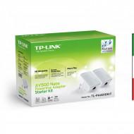 MiniPowerL.TP-LINK TL-PA4010KIT 500Mb 2PZ estende la rete elett. 2 unità