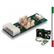 MODULO PCB interno con attacco 6 Ventole