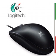 MOUSE LOGITECH OEM B100 OPTICAL BLACK USB P/N 910-003357 800DPI-GARANZIA 3 ANNI-