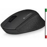 MOUSE M280 WIRELESS LOGITECH USB COLORE BLACK