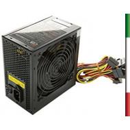 ALIMENTATORE ATX 650W ITEK ENERGY PIV FULL BLACK RETAIL - FAN12CM - 4 CONN. SATA - 20+4 PIN - SPINA IT. (GAR. 24M) - ITPS650K