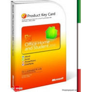 MS OFFICE HOME&STUDENT 2013 ITA KEYWord Excel Powerp. Onenote - 1PC -32/64B
