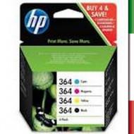 Multipack Cartuccia HP 364 nero + colori