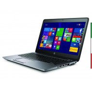 NOTEBOOK HP ELITEBOOK 840 G2 USATO  PRIMA SCELTA GRADE A e KIT TASTIERA ITALIANO ELITEBOOK 840 G2  - DISPLAY 14 HD - INTEL I5-53
