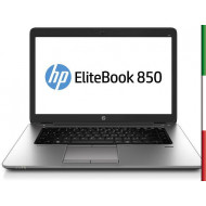 NOTEBOOK HP ELITEBOOK 850 G1 USATO  PRIMA SCELTA GRADE A e KIT TASTIERA ITALIANO ELITEBOOK 850 G1  - DISPLAY 15.6  HD  - INTEL I
