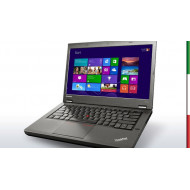 NOTEBOOK LENOVO USATO T540P  PRIMA SCELTA GRADE A e KIT TASTIERA ITALIANO   - INTEL i5-4300M - RAM 8 GB - DISPLAY 15.6  HD - WIN