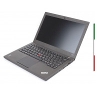 NOTEBOOK LENOVO X240 USATO  PRIMA SCELTA GRADE A - INTEL I5-4300u  - RAM 8G - SSD 250GB -  SVGA INTEL HD4400 - USB 3.0-   DISPLA