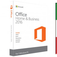 OFFICE 2016 - HOME AND BUSINESS - 32BIT/X64 MEDIALESS T5D-02393