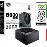 ALIMENTATORE CoolerMaster B600W  ver2VENTOLA 12cm 24 Pin SATA
