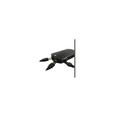 ADATTATORE  porta accend. a 2 PORTE USB BIANCO 2A