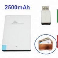 POWER BANK 2500ma x iPHONE/SMARTPHONE CCT-1034