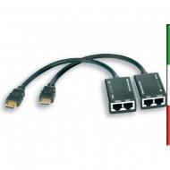Amplificatore HDMI Cat 5e/6 Compatto 30m