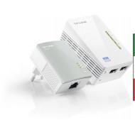 PowerLineTP-LINK TL-WPA4220K LAN 500Mbestende la rete elett. Lan10/100,2 unità