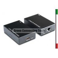 AMPLIFICATORE HDMI su CAT5/6  to 50MT1 Cavo rete  - Alimentato