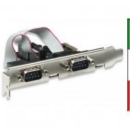SCHEDA 2 PORTE SERIALI PCI-EXPRESS