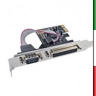 SCHEDA PCI EXPRESS 1 PORTA PARAL+1 SER