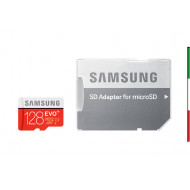 SD Memory Card MICRO 128Gbyte SAMSUNG EVO PLUS CL10 READ 80MB/s WRITE 20MB/s