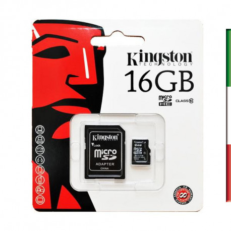 SD Memory Card MICRO 16Gbyte KING CL10