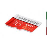 SD Memory Card MICRO 16Gbyte SAMSUNG EVO PLUS CL10 READ 80MB/s WRITE 10MB/s